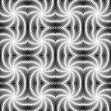 Design seamless uncolored vortex twisting pattern Royalty Free Stock Photo