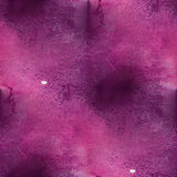 Design seamless violet, pink  watercolor texture Stock Image