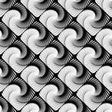 Design seamless vortex strip geometric pattern Royalty Free Stock Photo