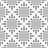 Design seamless warped diamond pattern Royalty Free Stock Images