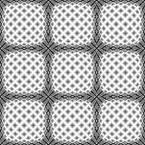 Design seamless warped diamond pattern Stock Images
