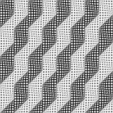Design seamless warped zigzag pattern Stock Photo