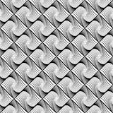 Design seamless wave diamond geometric pattern Stock Images