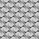 Design seamless wave diamond geometric pattern Stock Images