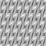 Design seamless wave diamond geometric pattern Stock Image