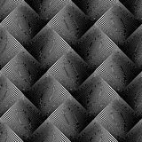 Design seamless wave geometric pattern Royalty Free Stock Photos
