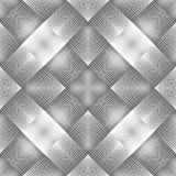 Design seamless wave geometric pattern Royalty Free Stock Image