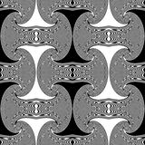 Design seamless whirl movement pattern Royalty Free Stock Images