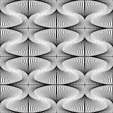 Design seamless whirl movement pattern Royalty Free Stock Photos