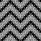 Design seamless zigzag decorative pattern Stock Image