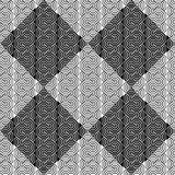 Design seamless zigzag geometric pattern Royalty Free Stock Image