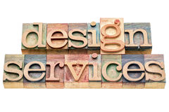 Design services banner Royalty Free Stock Photography