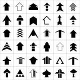 Design set of arrow.  Stock Photo