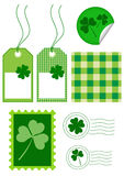Design set for St. Patrick's Day Stock Photo