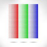 Design set of vertical modern backgrounds Stock Images