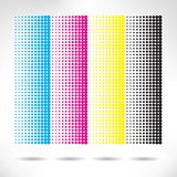 Design set of vertical modern backgrounds Royalty Free Stock Photos