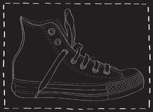 Design of the shoe. Royalty Free Stock Image
