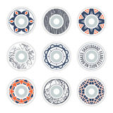 Design skateboard wheels Royalty Free Stock Photos