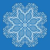 Design snowflake Stock Photos