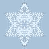 Design snowflake Stock Images