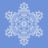 Design snowflake Royalty Free Stock Photography