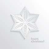 Design Snowflake Royalty Free Stock Images