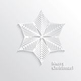Design Snowflake Royalty Free Stock Photography