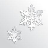 Design Snowflake Royalty Free Stock Photo