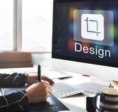 Design Software Resize Icon Concept Royalty Free Stock Photography
