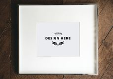 Design space on blank papers Royalty Free Stock Images