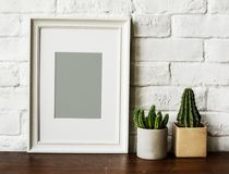 Design space photo frame isolated Stock Photo