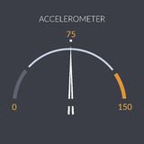 Design speedometer cars speed. Meter control Stock Photo