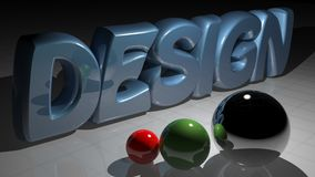 Design spheres Royalty Free Stock Images