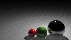 Design spheres stock footage