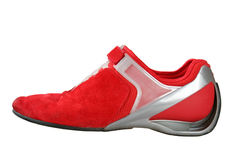 Design sport red shoe Royalty Free Stock Image