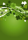 Design for the St. Patrick's Royalty Free Stock Images