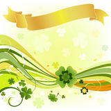 Design for the St. Patrick's Day Royalty Free Stock Photography
