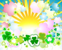 Design for St. Patrick's Day Royalty Free Stock Photo