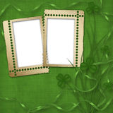 Design for St. Patrick's Day Stock Photo