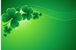 Design for St. Patrick's Day Royalty Free Stock Image