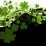 Design for St. Patrick's Day royalty free illustration
