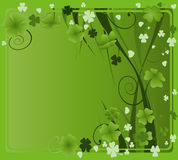 Design for St. Patrick's Day Stock Images