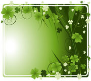 Design for St. Patrick's Day Royalty Free Stock Images