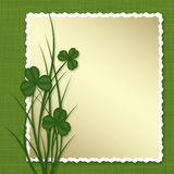 Design for St. Patrick's Day. Royalty Free Stock Photos