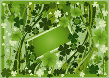 Design for St. Patrick's Day Stock Photography