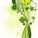 Design for the St. Patrick's Day Stock Image