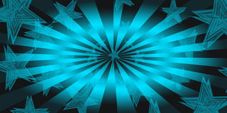 Design of star background Royalty Free Stock Image