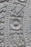 Design Stone Wheel of Dharma Stock Image