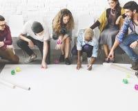 Design Students Team Designing Start up Concept stock image