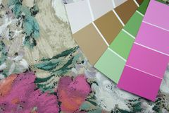 Design Swatches Stock Images